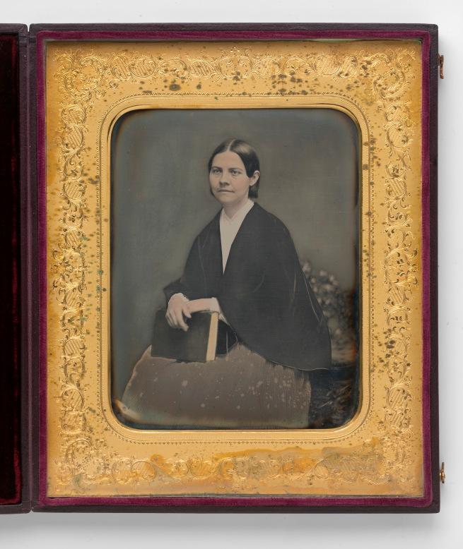 Unidentified Artist. 'Lucy Stone' c. 1855