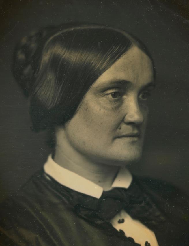 Unidentified Artist. 'Charlotte Cushman' c. 1850 (detail)