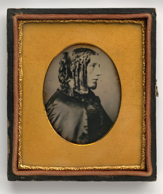 Unidentified Artist. 'Harriet Beecher Stowe' 1852