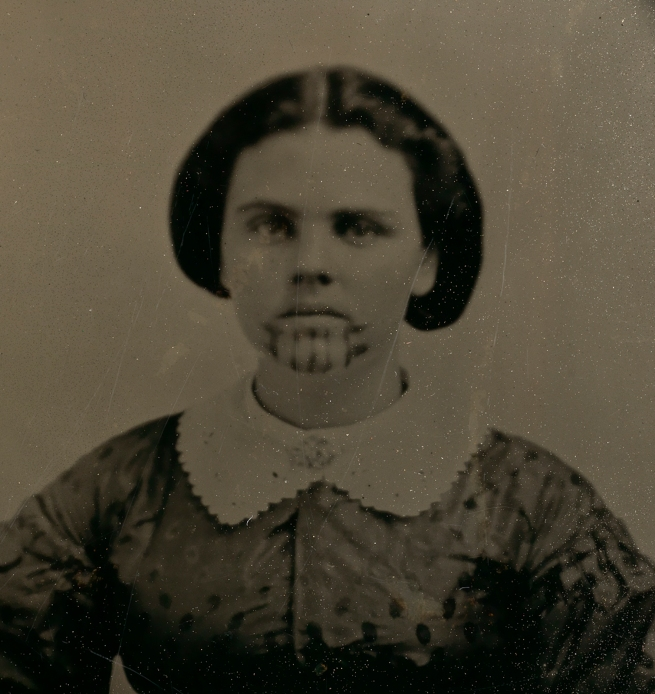 Unidentified Artist. 'Olive Oatman' Nd (detail)