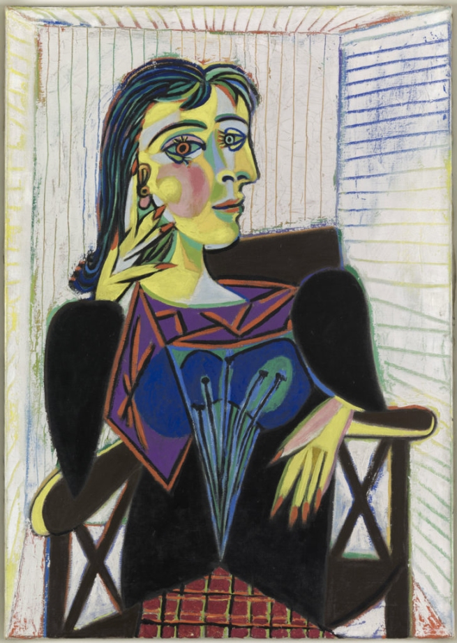 Pablo Picasso (Spanish, 1881-1973) 'Portrait of Dora Maar' 1937