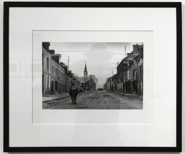 Robert Capa (American-Hungarian, 1913-1954) 'Cow in the middle of a street lined with ruined buildings, Normandy, France' June-July 1944