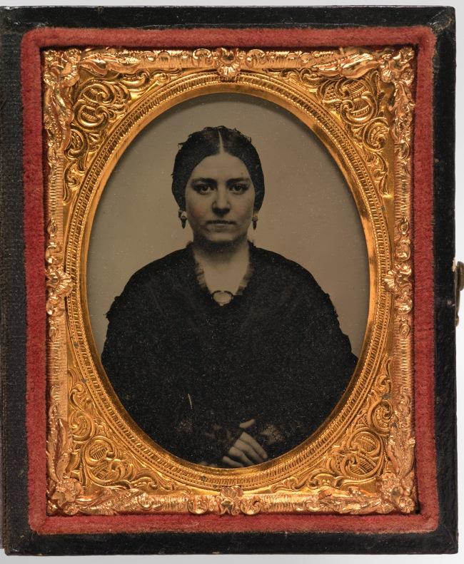 Unidentified Artist. 'Mary Ann Brown Patten' c. 1857