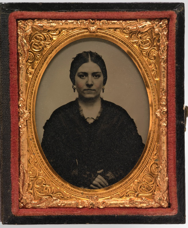Unidentified Artist. 'Mary Ann Brown Patten' c. 1857