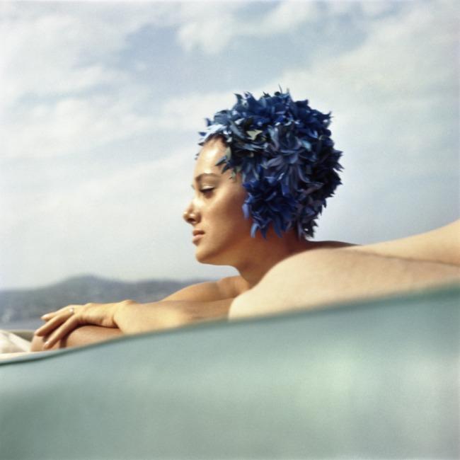 Jacques Henri Lartigue (1894-1986) 'Sylvana Empain, Juan-les-Pins' France, 1960