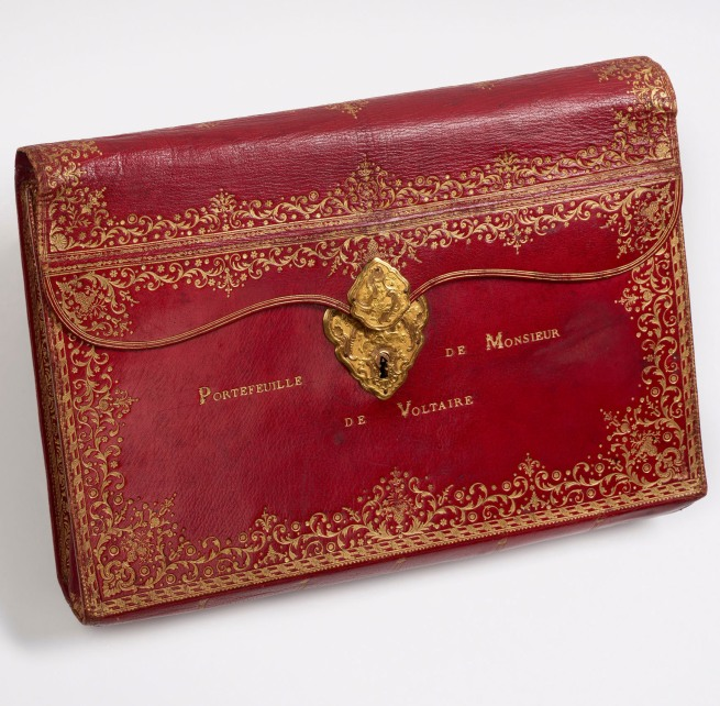 Florian, Marquis de (1755-1794) 'Red leather portfolio [realia]' 18th century