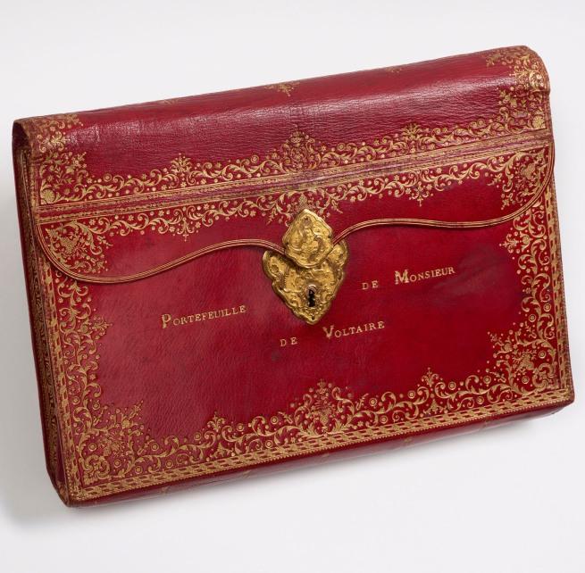 Florian, Marquis de (1755-1794) 'Red leather portfolio [realia]' 18th century