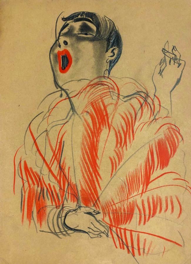 Erna Schmidt-Caroll Chansonette (Singer) c. 1928