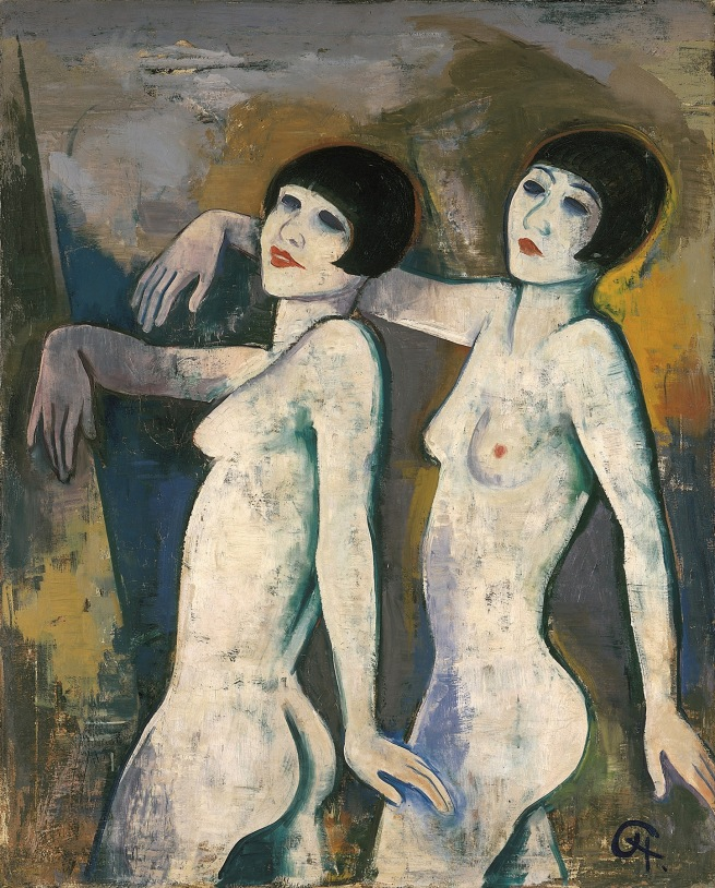 Karl Hofer Tiller Girls before 1927