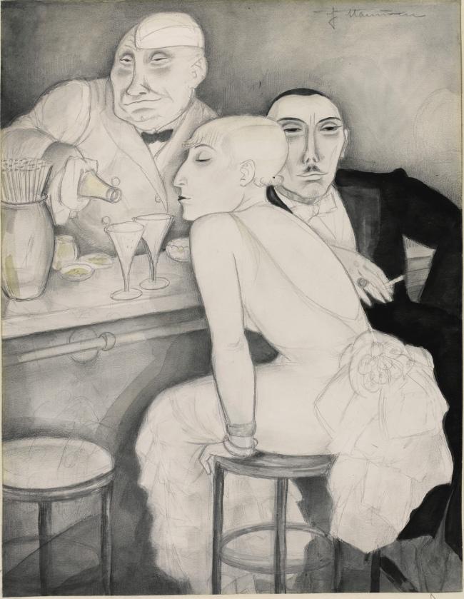 Jeanne Mammen Bar c. 1930