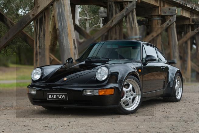 Andrew Follows (Australian) 'Porsche 964 991 Turbo 3.6' 2019