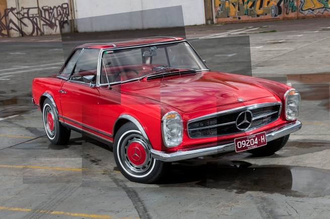 Andrew Follows (Australian) 'Mercedes-Benz 230SL' 2019