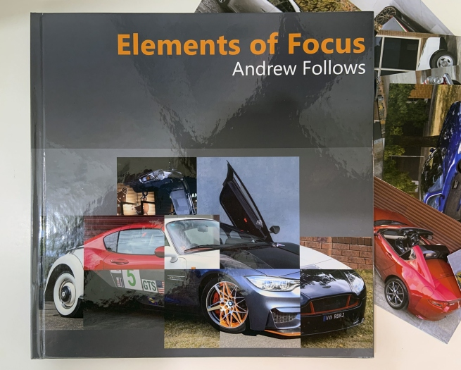 'Elements of Focus' exhibition book cover