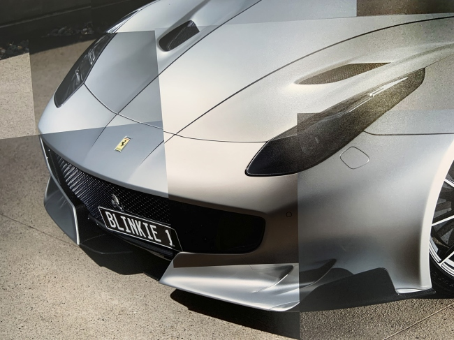 Andrew Follows (Australian) 'Ferrari F12tdf' 2019 (detail)