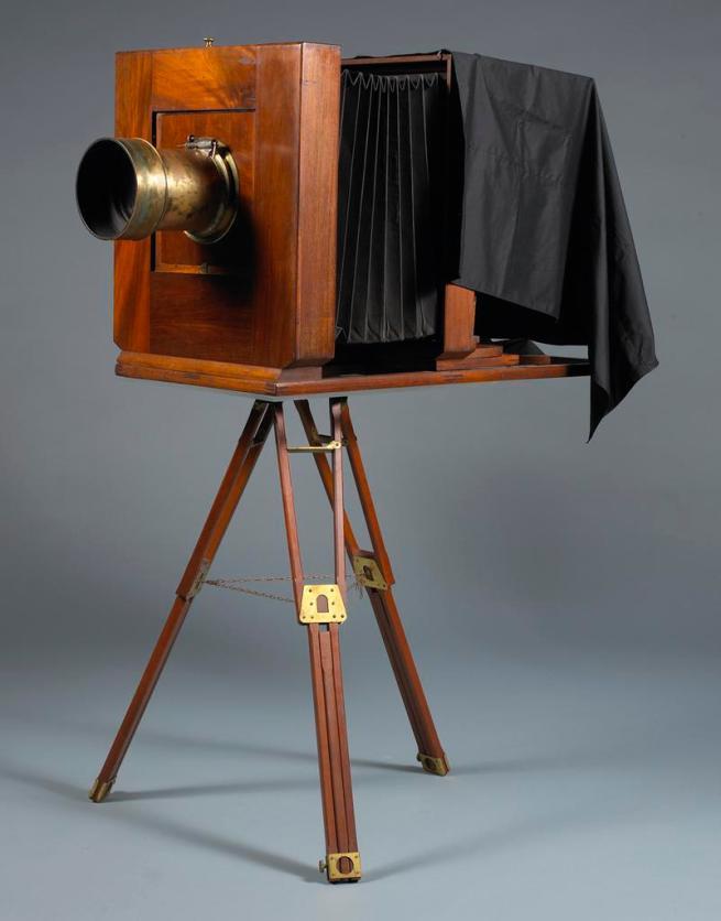 August Semmendinger (American, 1820-1885) 'Mammoth Plate Wet-Collodion Camera' 1874-1885