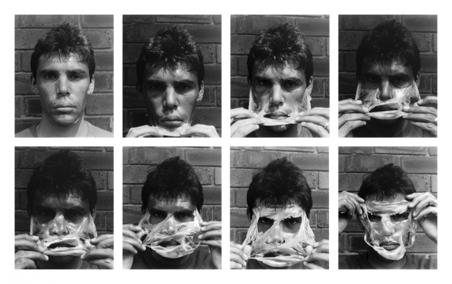 Gordon Bennett. 'Self-portrait (Nuance II)' 1994