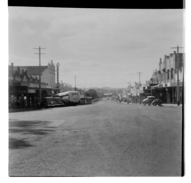 Unknown photographer (Australian) 'Untitled (Bilsons, country town)' 1946-47