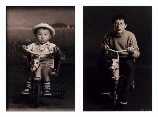 Hai Bo (Chinese, 1962) 'Wood horse' 1999