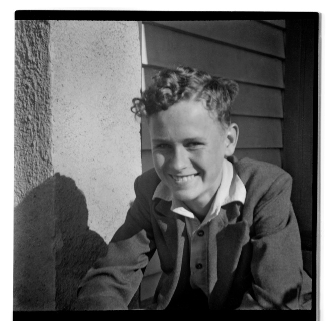 Unknown photographer (Australian) 'Untitled (boy smiling)' 1946-47