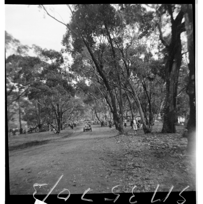 Unknown photographer (Australian) 'Untitled (hillclimb, possibly at Maldon, Victoria)' 1946-47
