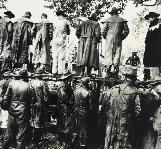 Jeff Carter. 'Clan gathering, Wangaratta' 1955