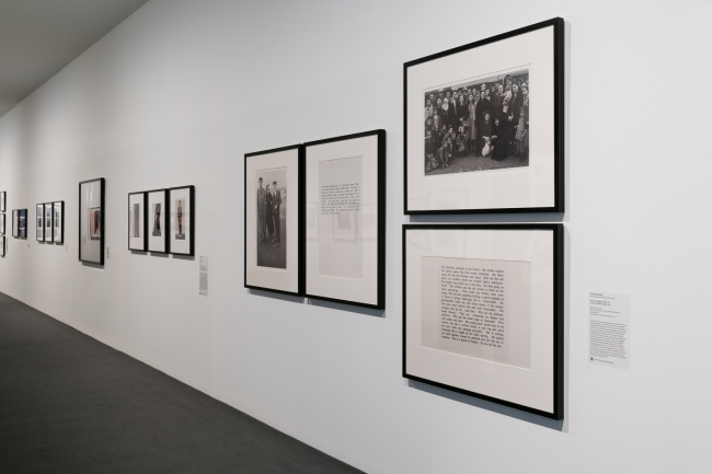 Installation view of the exhibition 'Dressing Up' at the Monash Gallery of Art, Melbourne