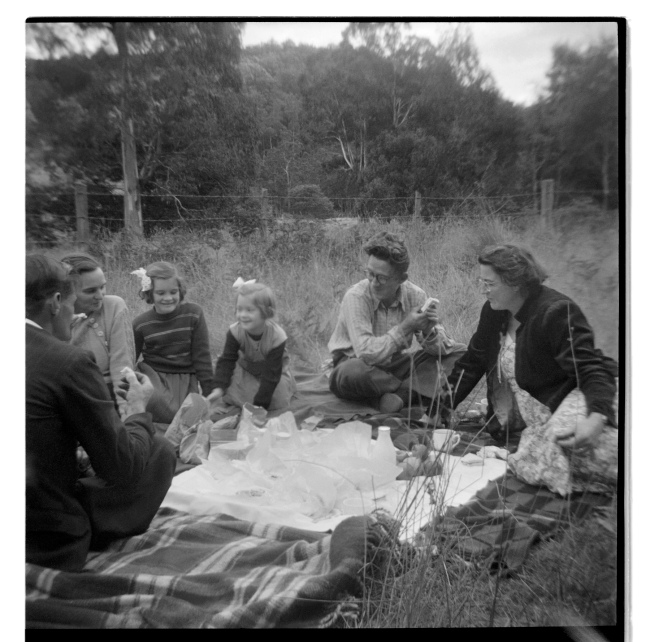 Unknown photographer (Australian) 'Untitled (family picnic)' 1946-47