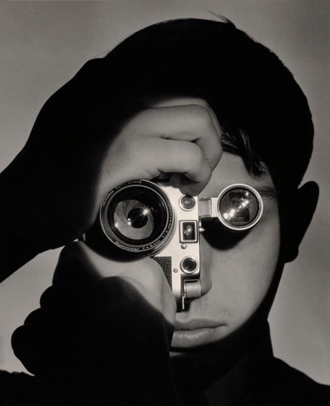 Andreas Feininger (American, born France, 1906 - 1999) 'The Photojournalist' Negative 1951; print later