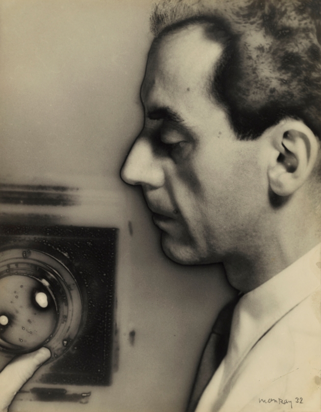 Man Ray (American, 1890-1976) '[Self-Portrait with Camera]' 1932