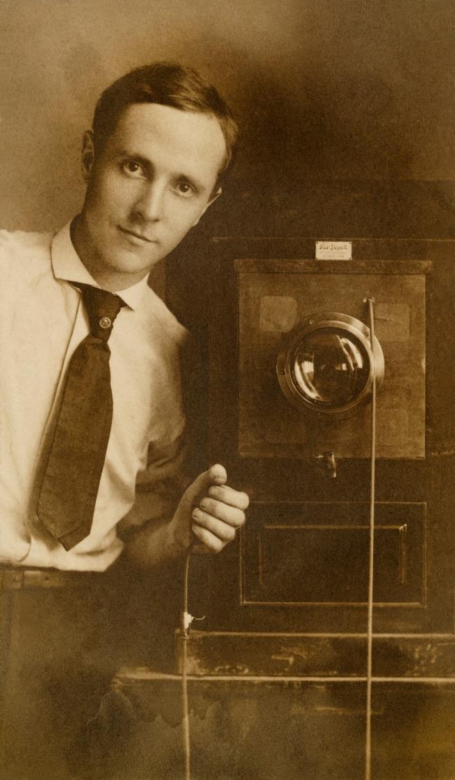 Edward Weston (American, 1886-1958) 'Self Portrait with Camera' 1908