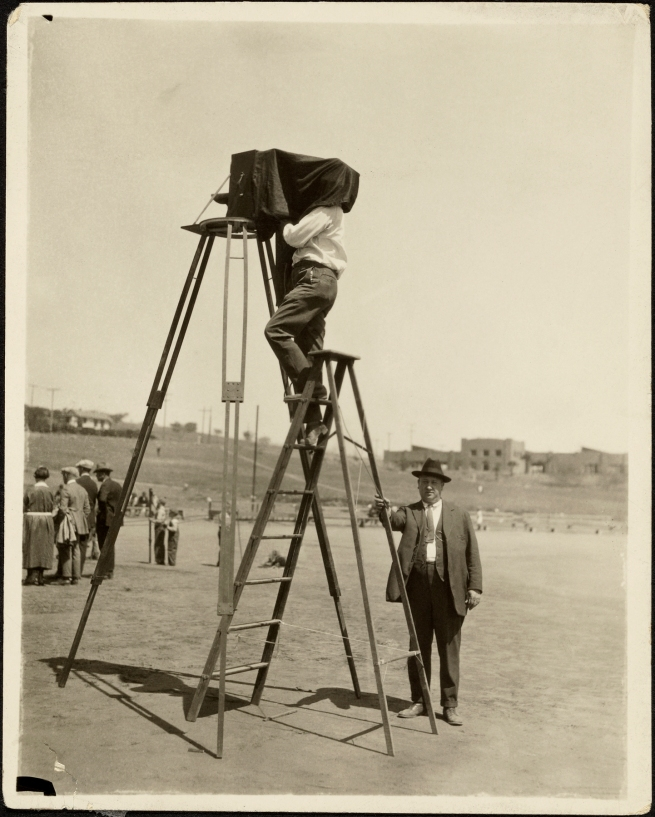 George Watson (American, 1892-1977) '[Camera on 12-foot Tripod]' 1920s