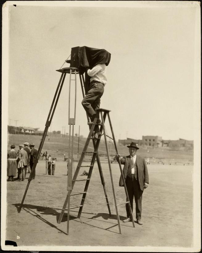 George Watson (American, 1892-1977) '[Camera on 12-foot Tripod]' 1920s