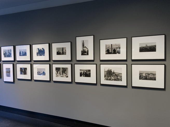 Installation view of the exhibition 'Robert Frank. Unseen' at C/O Berlin