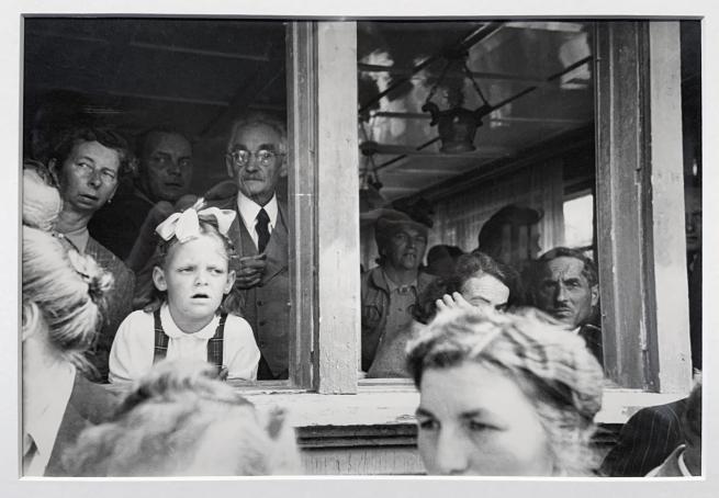 Robert Frank (Swiss-American, 1924-2019) 'Landsgemeinde / Cantonal Assembly Hundwil, Schweiz' 1949 (installation view)