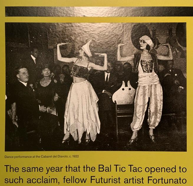 Rome: Cabaret Del Diavolo 1922 wall text
