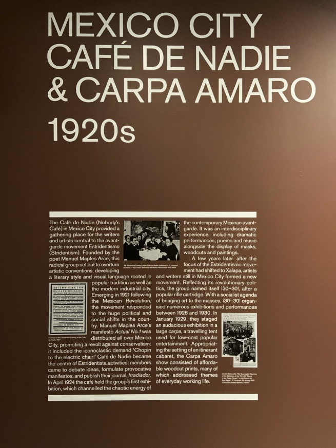 Mexico City: Cafe De Nadie & Carpa Amaro 1920s