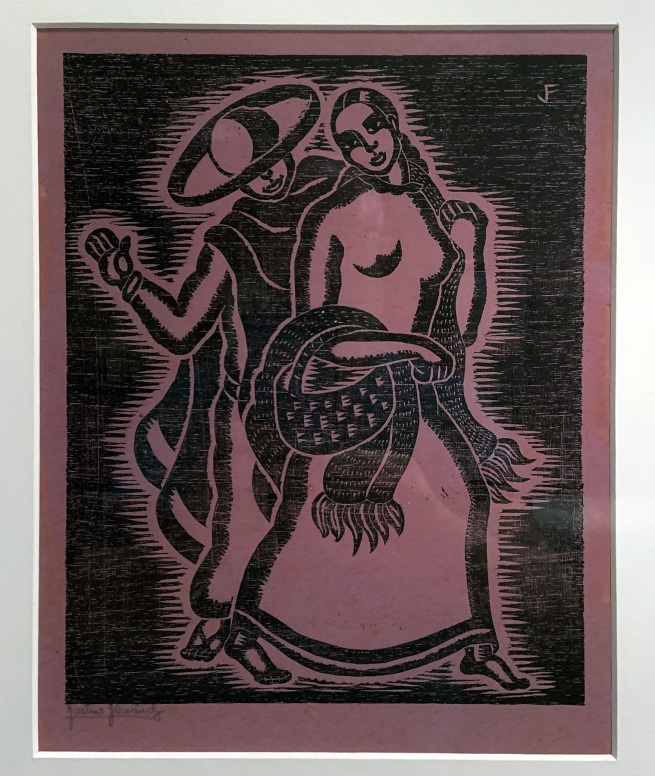 Justino Fernandez. 'La hora del mando' (Market Time) 1928 (installation view)