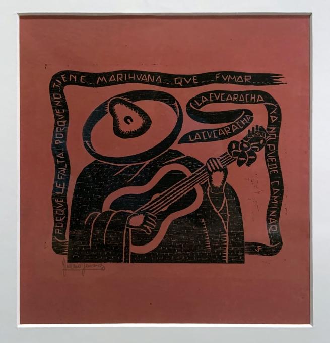 Justino Fernandez. 'El corrido' (The Corrido) 1928 (installation view)