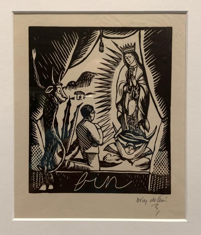 Francisco Diaz de León. 'Retablo' (Altarpiece) 1928 (installation view)
