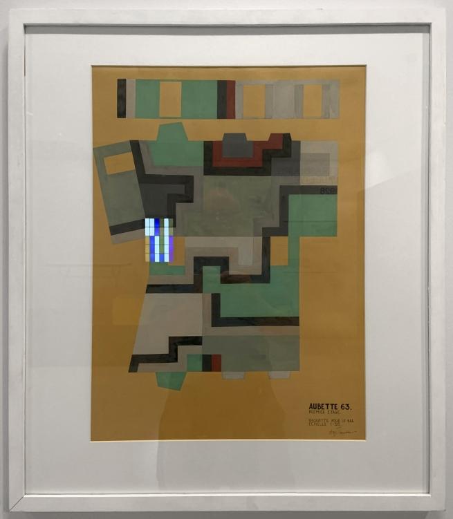 Sophie Taeuber-Arp. 'Aubette 63'1927 (installation view)