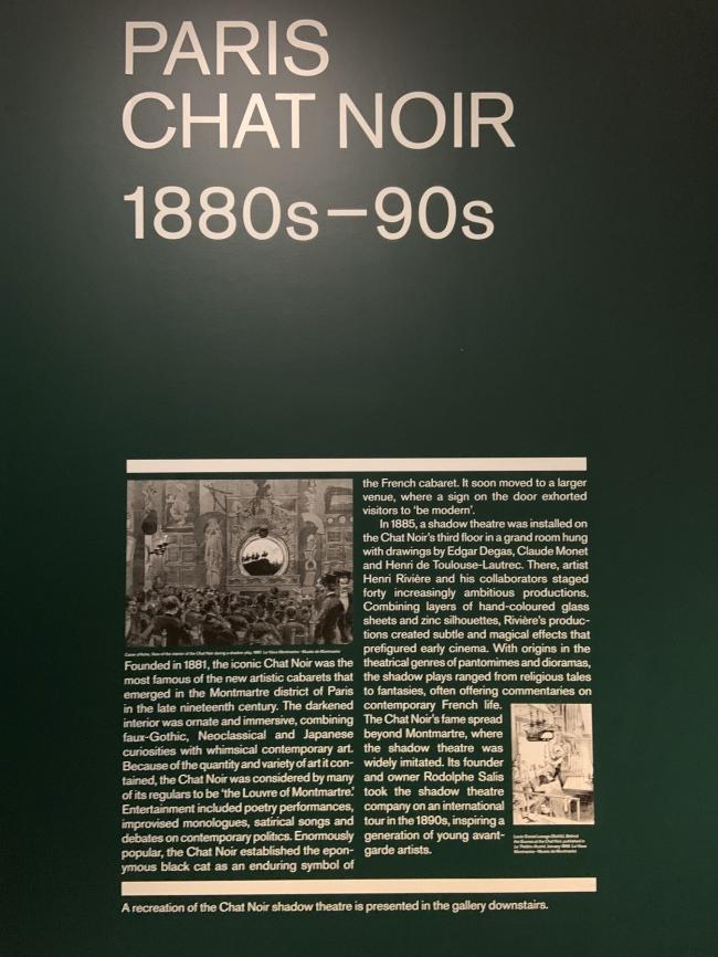 Paris: Chat Noir 1880s-90s