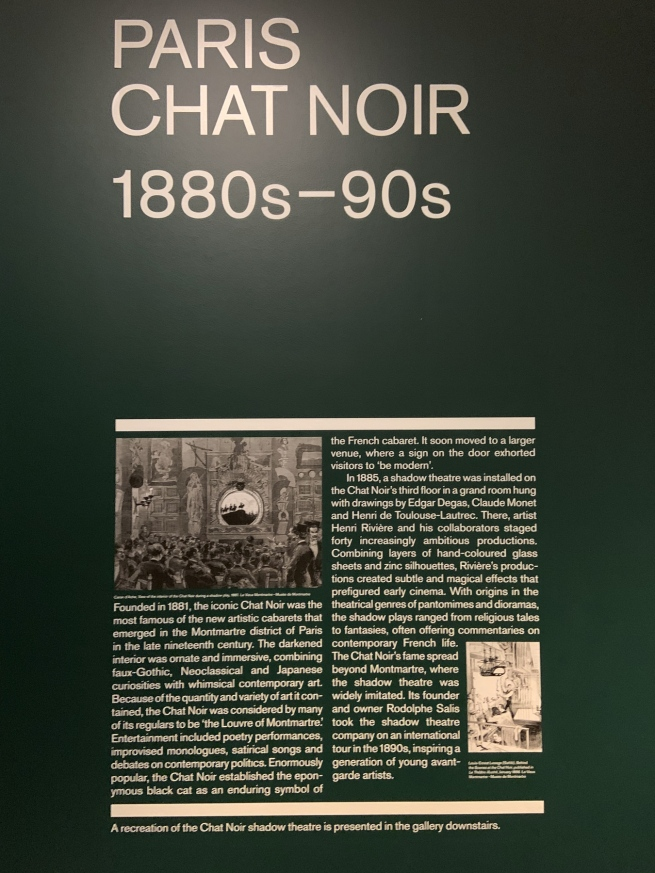Paris: Chat Noir 1880s-90s