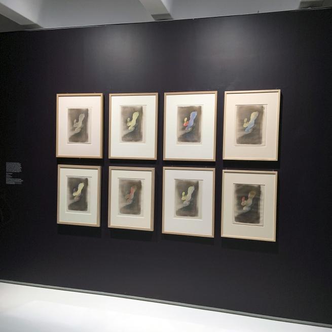 Henri de Toulouse-Lautrec. 'Miss Loïe Fuller' 1893 (installation view)