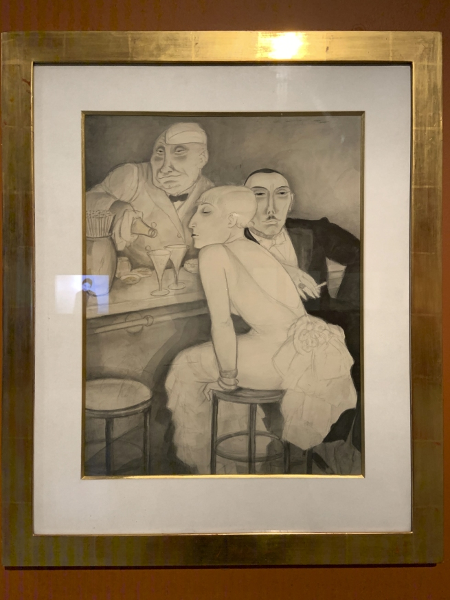 Jeanne Mammen. 'Bar' c. 1930 (installation view)