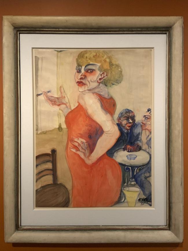 Elfriede Lohse-Wächtler Lissy 1931 (installation view)