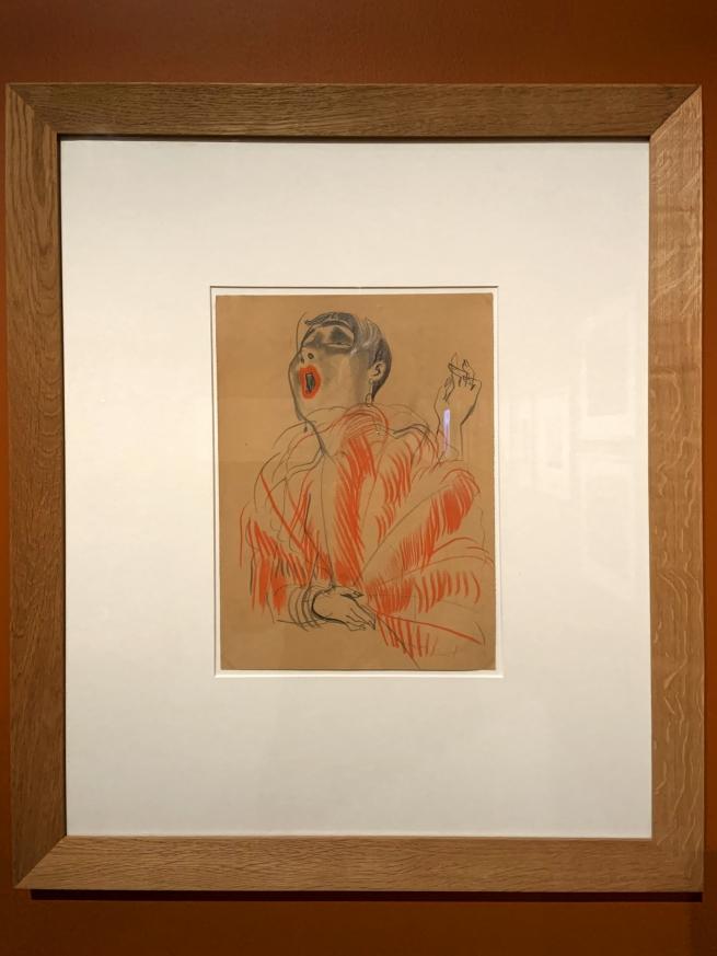 Erna Schmidt-Caroll. 'Chansonette' (Singer)c. 1928 (installation view)