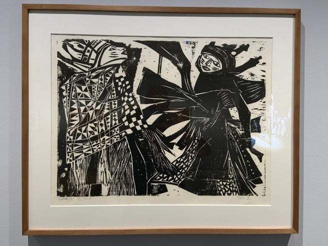 Georgina Beier. 'Gelede' 1966 (installation view)