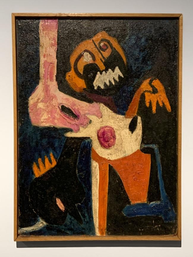 Collete Omogbai. 'Agony' 1963 (installation view)