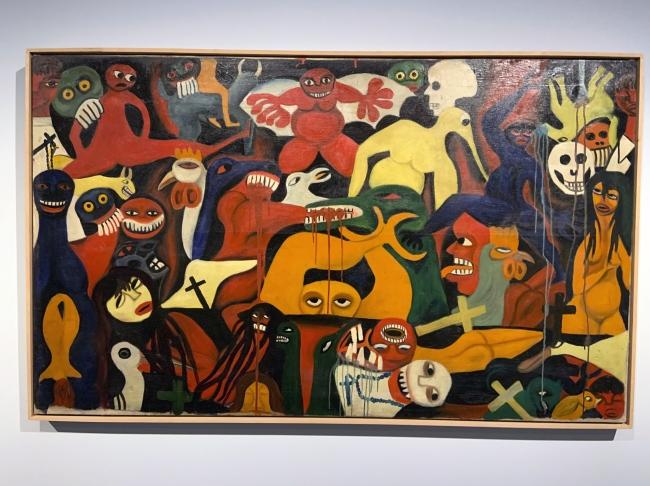 Valente Malangatana Ngwenya. 'Untitled' 1961 (installation view)