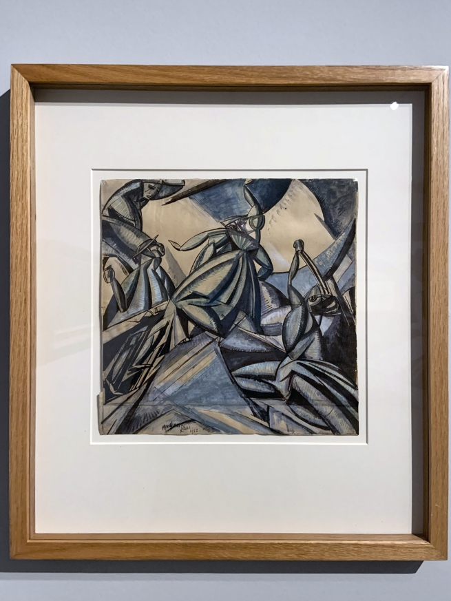 Wyndham Lewis. 'Kermesse' 1912 (installation view)